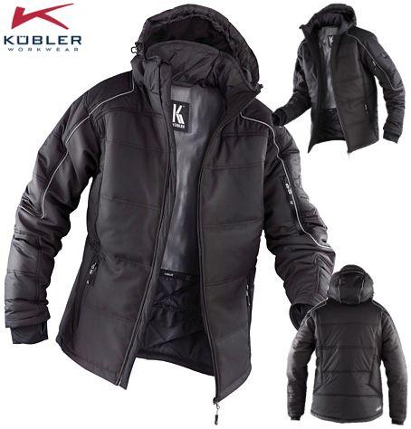K/übler 10417322-9799-3XL Softshell Arbeitsjacke mit Seitentaschen anthrazit//schwarz 3XL