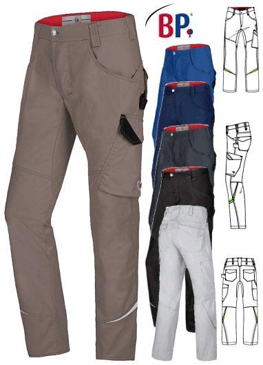 Berufsbekleidung Regenhose, m. Reflexbiesen, div. Taschen