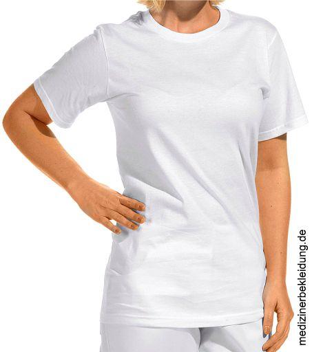 ebf23061084c0a T-Shirt Rundhals weiß einzeln 100% Baumwolle. Ca. 180 g/m², 60° waschbar,  Rundhals, 1/2 Arm, Leiber T-Shirt für Damen und Herren, Gr. XS-3XL