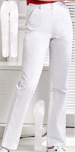 berufsbekleidung damen hosen wei damen arbeitshosen medizin pflege. Black Bedroom Furniture Sets. Home Design Ideas