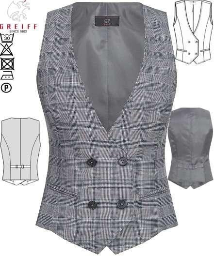 info for b2220 0012d Berufsbekleidung Westen Damen Empfang Rezeption Business